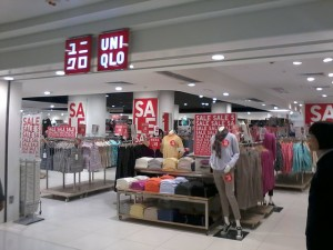 Uniqlo store in Hong Kong. Photo by Slisalsok