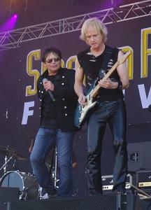 Survivor at Sweden Rock 2013. Photo by Staffan Vilcans