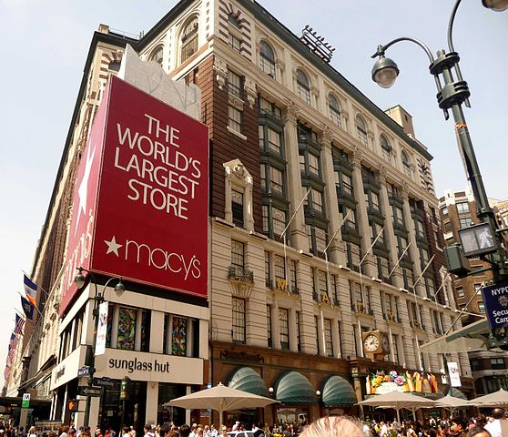 Macy's Department Store in New York City. Photo by Mike Strand