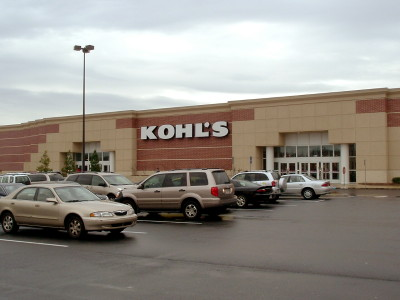 The exterior of a typical Kohl's department store in Northeast Columbia.