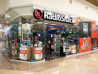 A Radio Shack store in the Plaza Caracol shopping center on Boulevard Francisco Medina Ascensio in the city of Puerto Vallarta, Jalisco, Mexico. Photo by Coolcaesar.