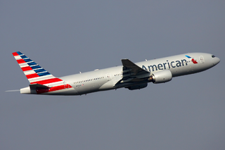 An American Airlines Boeing 777-223/ER. Photo courtesy of Sergey Kustov.